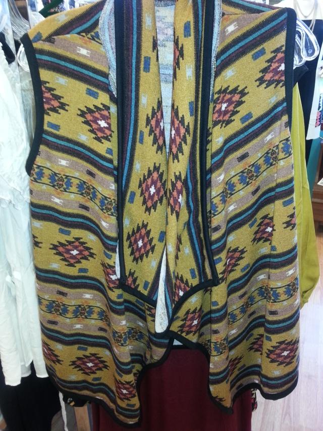 Aztec Sweater Vest