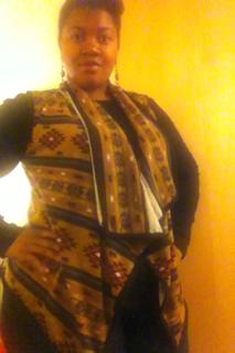Aztec Vest Sweater