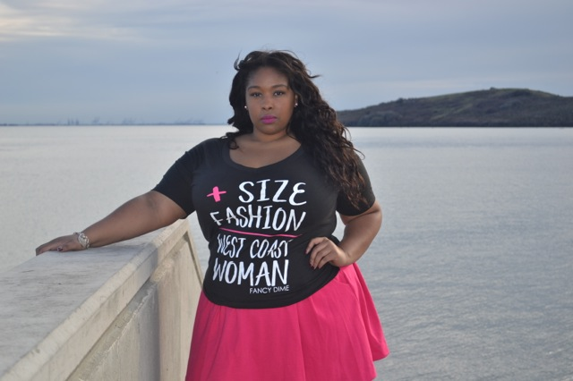 3c5e4155c63f0 The Up   Coming Model Size XL Tee
